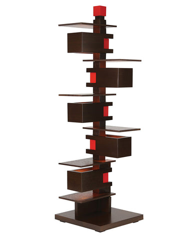 Frank Lloyd Wright Taliesin 3 Table Lamp - Walnut fullview