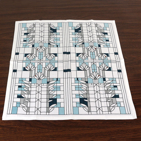 Frank Lloyd Wright Waterlilies Napkin