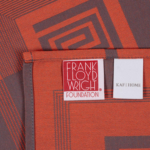 Frank Lloyd Wright Whirling Arrow Woven Table Runner