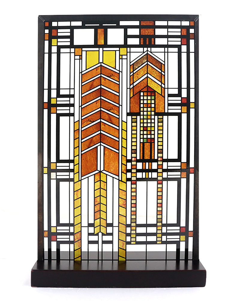 Frank Lloyd Wright Stained Glass Patterns.Frank Lloyd Wright Autumn Sumac Stained Glass