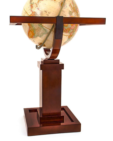 Frank Lloyd Wright Floor Standing World Globe angle