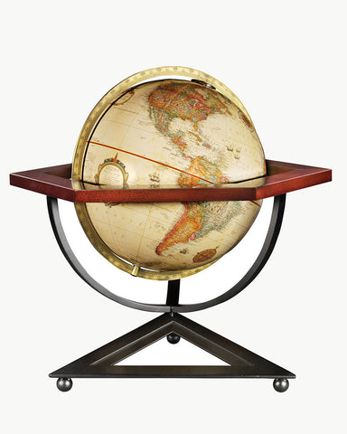 Frank Lloyd Wright Hexagon Desk Globe