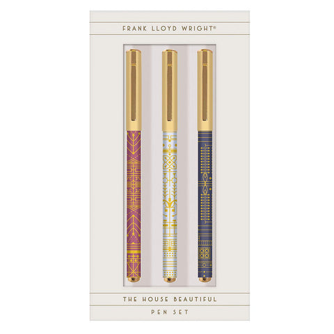 Frank Lloyd Wright House Beautiful Pen Set