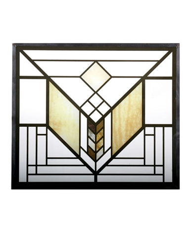 FLW Lake Geneva Tulip Stained Glass Inset
