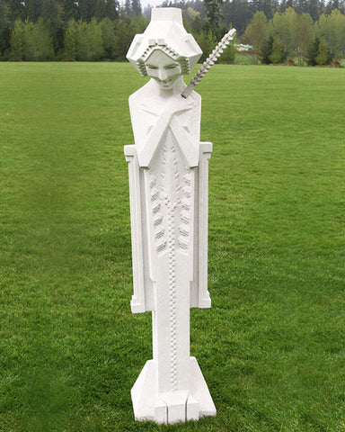 FLW Full Size Sprite Sculpture with Sceptre