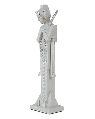Frank Lloyd Wright Cast Stone Tabletop Sprite with Sceptre