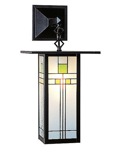 Arroyo Craftsman Franklin FB-9LSA Wall Sconce - Yellow Green