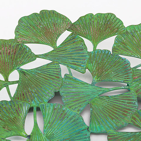 Arts & Crafts Ginkgo Plate David Howell Inset