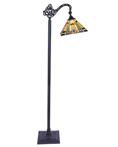 Arts & Crafts Kinsey Reading Floor Lamp