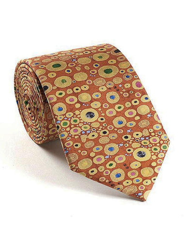 Gustav Klimt Hope II Silk Tie - Red
