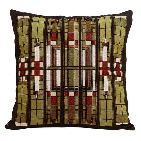 Louis Sullivan Skylight Tapestry Pillow