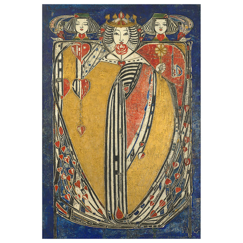 The Queens Boxed Note Cards by Margaret Macdonald Mackintosh