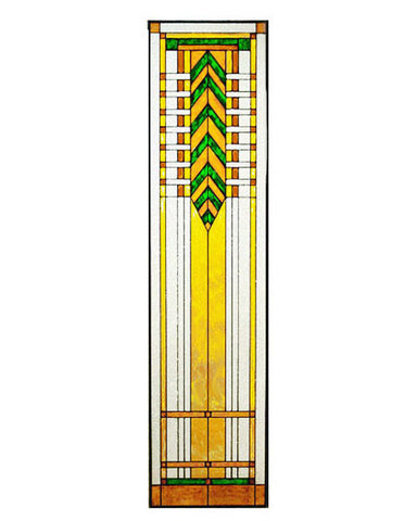 Tall Glass Panel 5 Inset