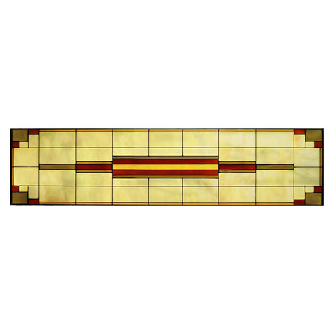 Transom Glass Panel 12