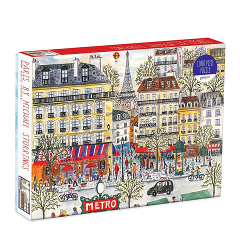 Paris by Michael Storrings 1000 Piece Jigsaw Puzzle