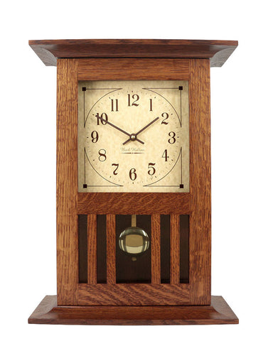 Amish Craftsman Mission Mantel Clock