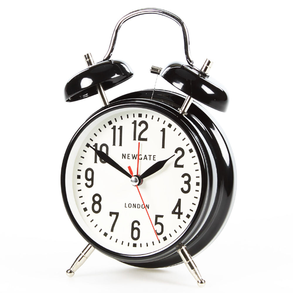 Newgate London Black Alarm Clock Architectgiftsplus