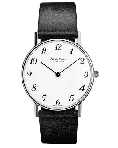 Classic Series Watch by Ole Mathiesen - Arabic Numbers