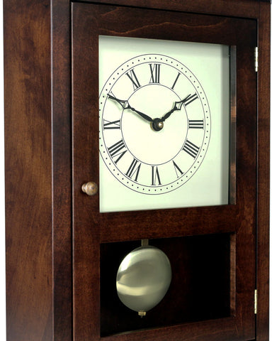 Amish Shaker Mantel Clock