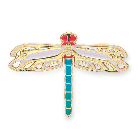 Louis C. Tiffany Dragonfly Enamel Pin