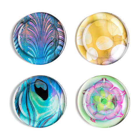 Louis C. Tiffany Favrile Coasters