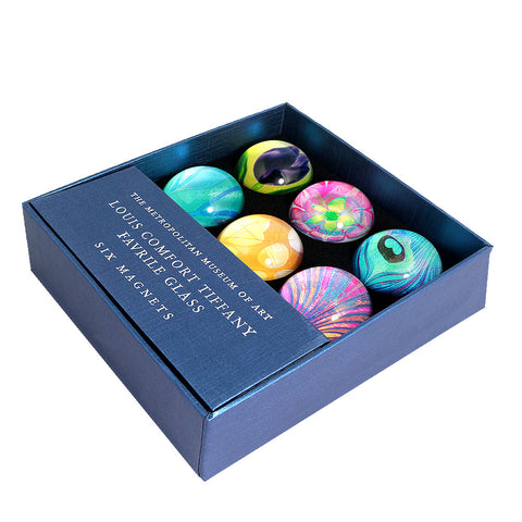 Louis C. Tiffany Favrile Domed Magnets
