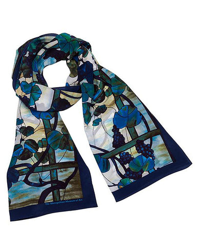 Louis C. Tiffany Grapevine Scarf