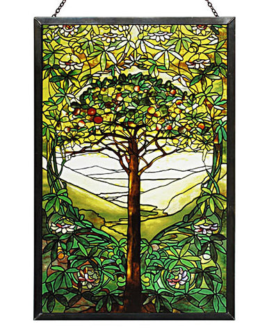 Tiffany Tree of Life Glass
