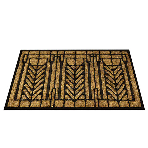 Frank Lloyd Wright Tree Of Life Design Doormat