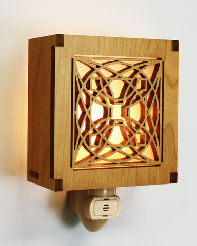 Frank Lloyd Wright Luxfer Prism Night Light