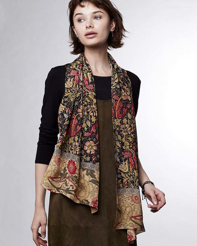 William Morris Compton Scarf - Style Shot 2