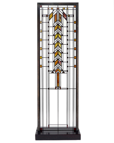 Frank Lloyd Wright Barton House Buffet Door Stained Glass