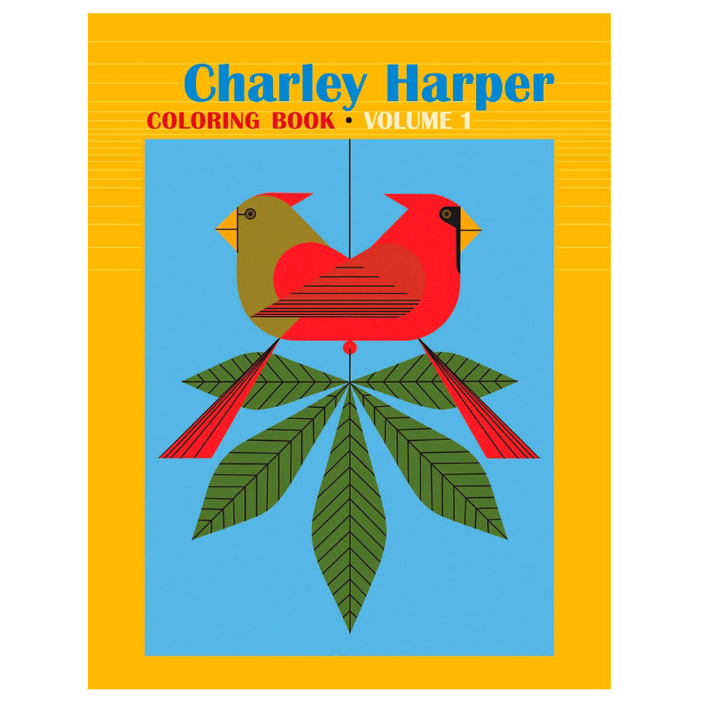 Charley Harper Coloring Book Volume 1 | ArchitectGiftsPlus