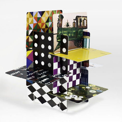 Eames House of Cards - Medium Inset