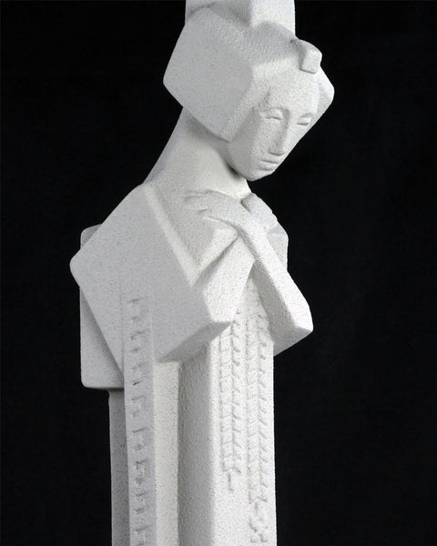 Creative Officewear Made Totally By Office Supply: Frank Lloyd Wright Tabletop Cast Stone Sprite