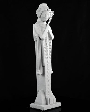 Frank Lloyd Wright Tabletop Sprite with Sceptre (angle)