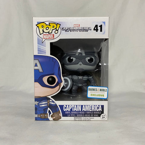 Captain America (Black and White) (The Winter Soldier) Barnes & Noble