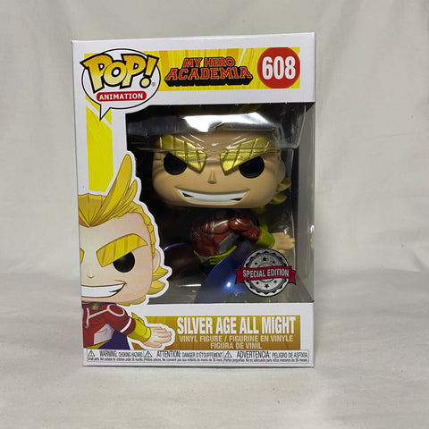 Silver Age All Might Metallic Special Edition