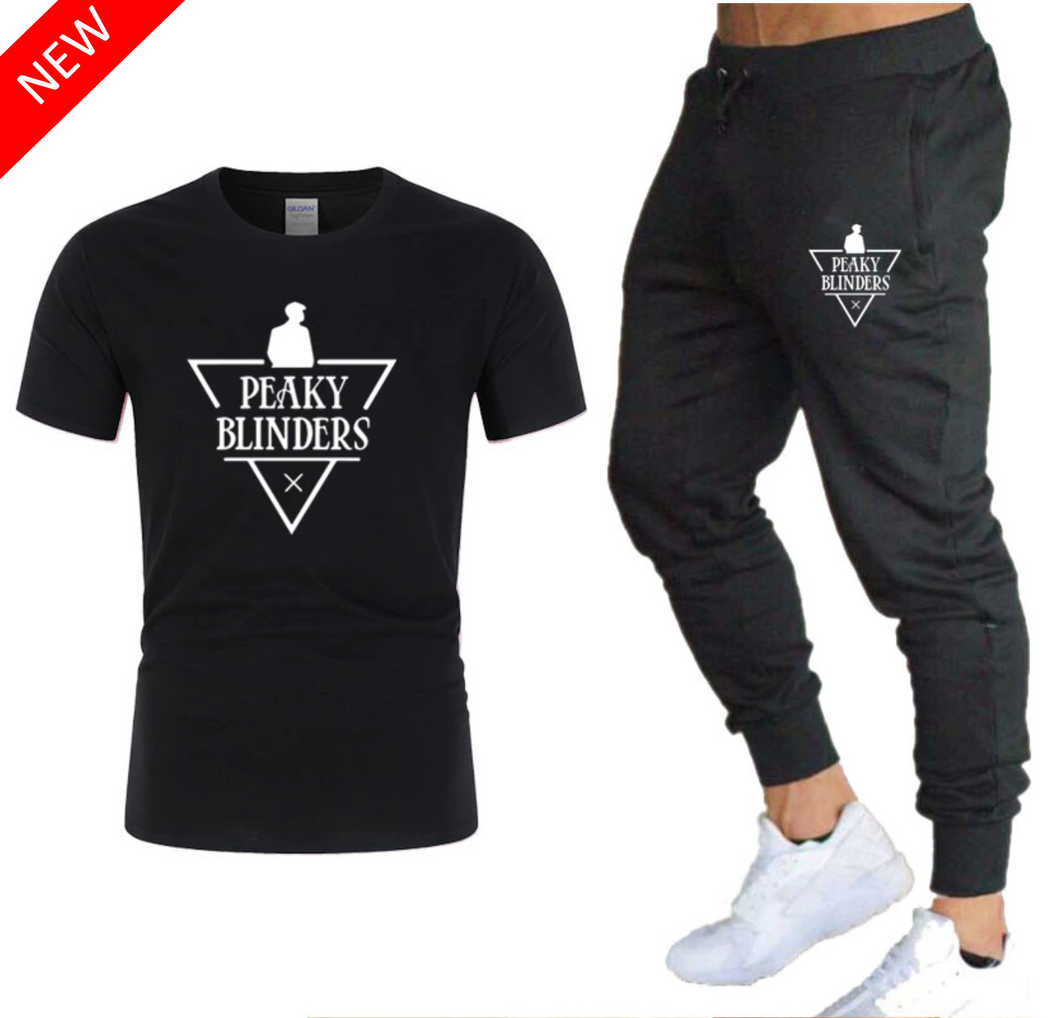 T-Shirt et Jogging Peaky Blinders - Black Edition