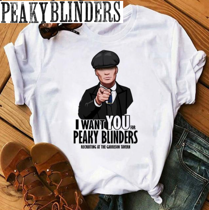 T-Shirt Peaky Blinders : I want You