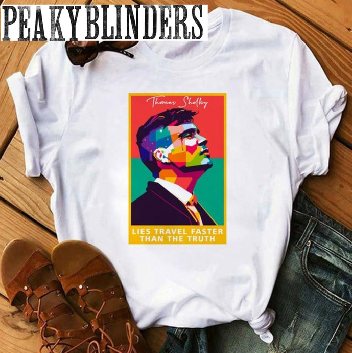 T-Shirt Peaky Blinders : Thomas Picasso