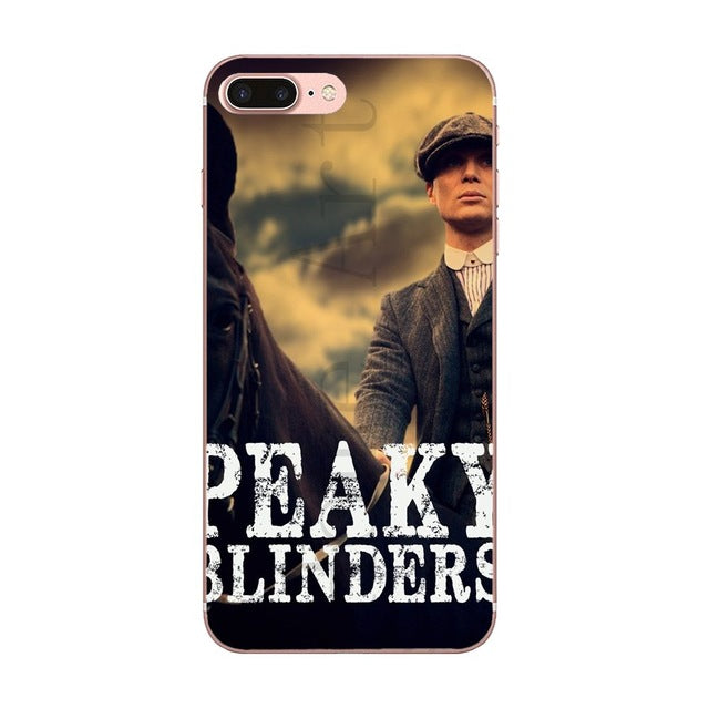 Coque SmartPhone Thomas Shelby à Cheval - Sony