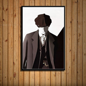 Peaky Blinders Poster HD -Dessin Thomas Shelby