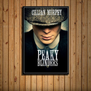 Peaky Blinders Poster HD - Poster Cillian Murphy est Thomas Shelby