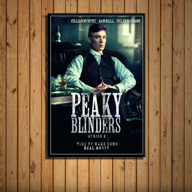 Peaky Blinders Poster HD - Thomas Shelby Méditation