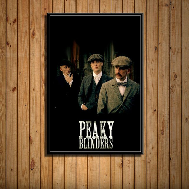 Peaky Blinders Poster HD - Les 3 frères Shelby