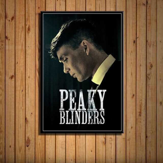 Peaky Blinders Poster HD - Portrait Thommy Shelby