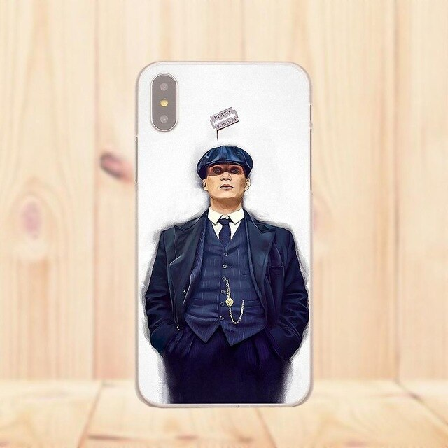 Coque SmartPhone Thomas Shelby Silhouette - Huawei