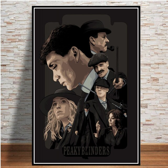 Peaky Blinders Poster HD - Saison 1