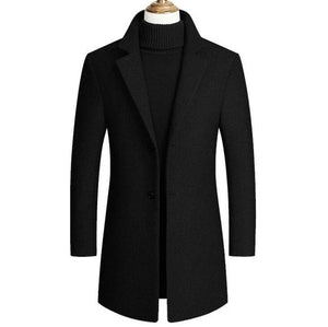 Manteau Long : Sombre